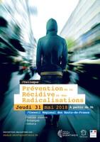 Colloque 31 mai «La place des collectivités dans la prévention de la récidive et des radicalisations»