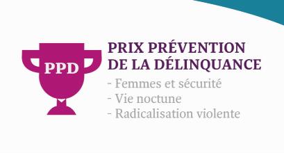 Ouverture des candidatures au Prix prévention de la Délinquance !