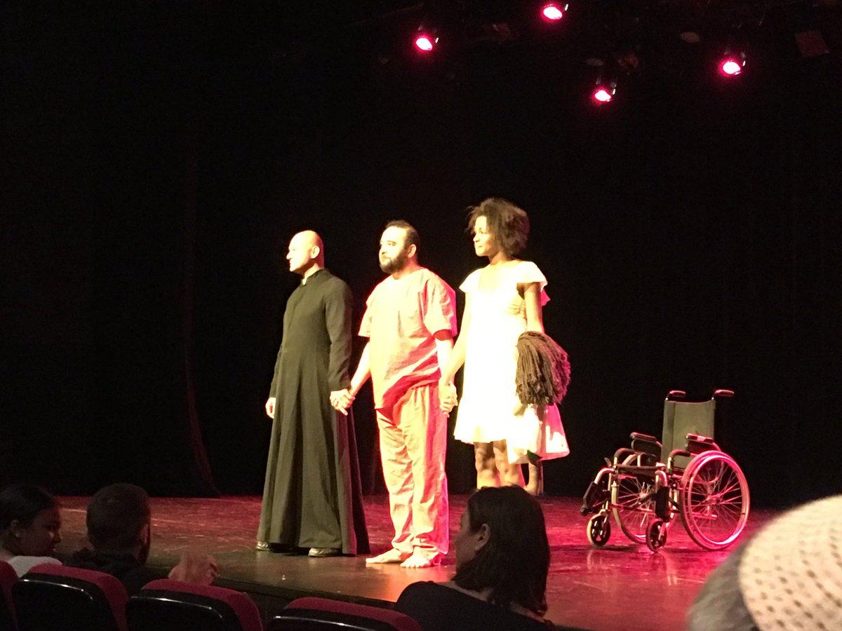 Première parisienne de Géhenne d'Ismael Saidi : le théâtre au service de la prévention de la radicalisation