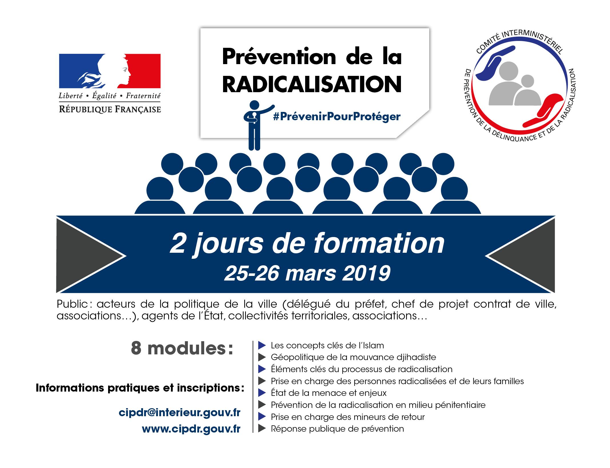 25/26 mars : PROCHAINE SESSION DE FORMATION ET NOUVEAU PROGRAMME