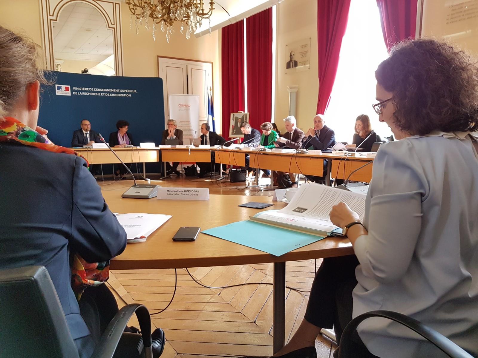 Installation du Conseil scientifique sur les processus de radicalisation