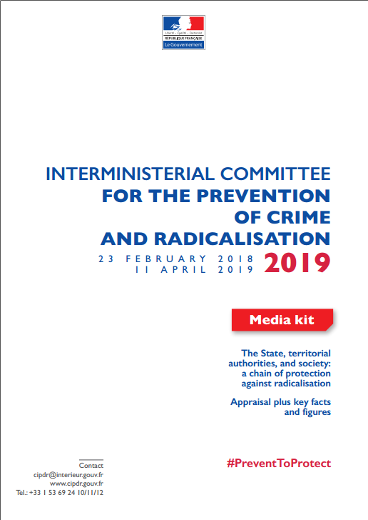 Appraisal Interministerial Committee for the prevention of crime and radicalisation 2019