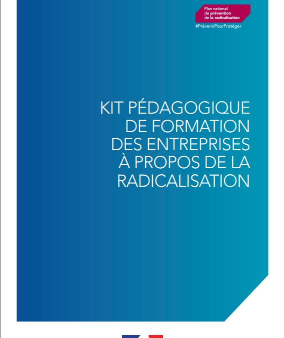 Kit pédagogique de formation des entreprises à propos de la radicalisation en entreprise
