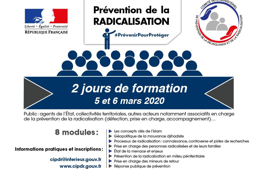 Nouvelle session de formation 2020