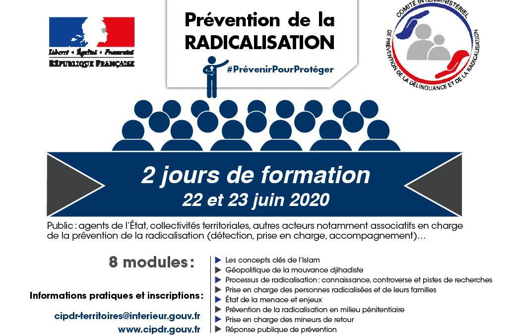 Nos formations à la prévention de la radicalisation évoluent et s'adaptent à la crise sanitaire