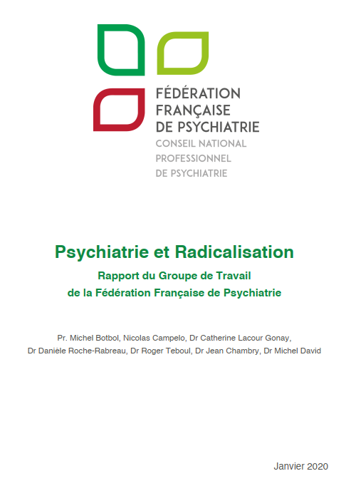 Restitution et perspectives du rapport «Psychiatrie et radicalisation»