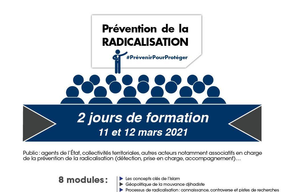 Nouvelle session de formation à la prévention de la radicalisation