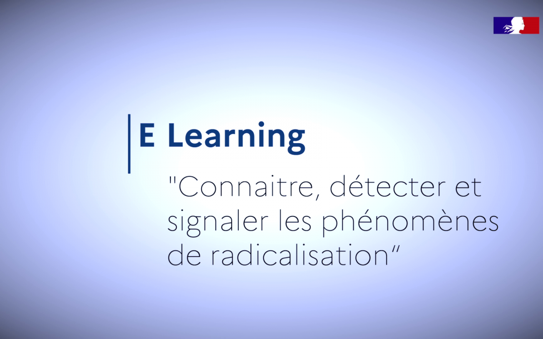 E-learning Prévention de la radicalisation