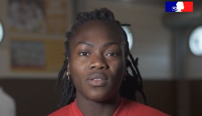 Enfant de la République : Clarisse Agbegnenou