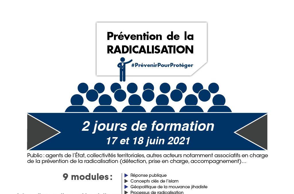Nouveau programme et nouvelle session de formation à la prévention de la radicalisation