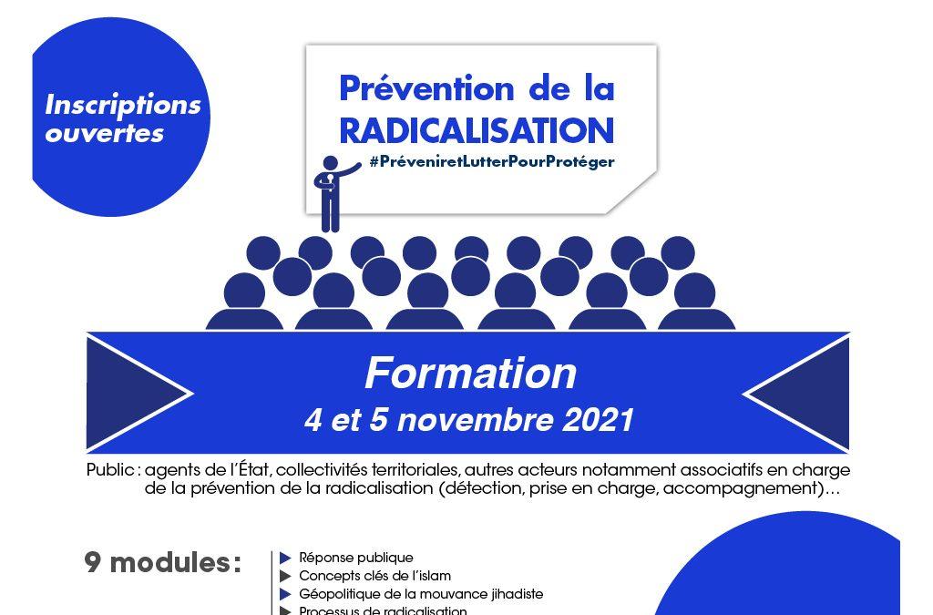 4 et 5 novembre : nouvelle session de formation à la prévention de la radicalisation